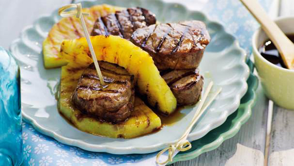 Filet teriyaki z ananasem